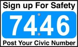 civic number