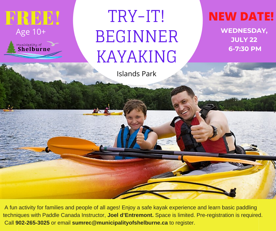 Try It Kayaking New Date July 22 July 2 2020