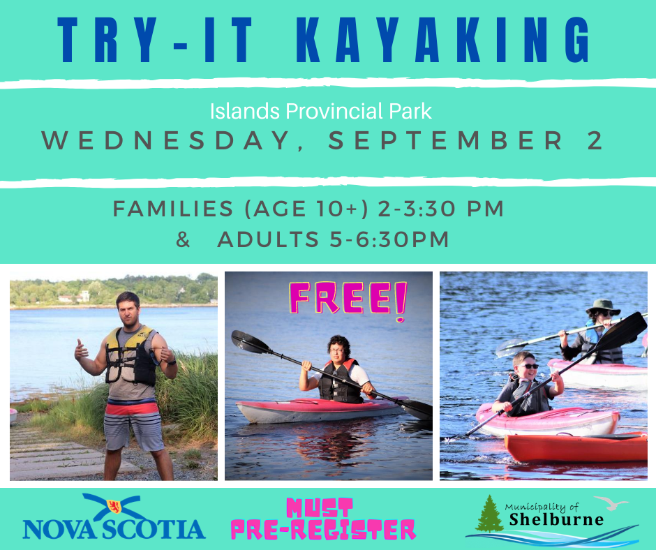 Try It Kayaking September 2 2020